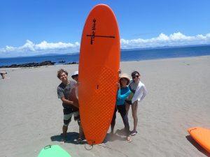 三浦海岸、南風SUP家族。