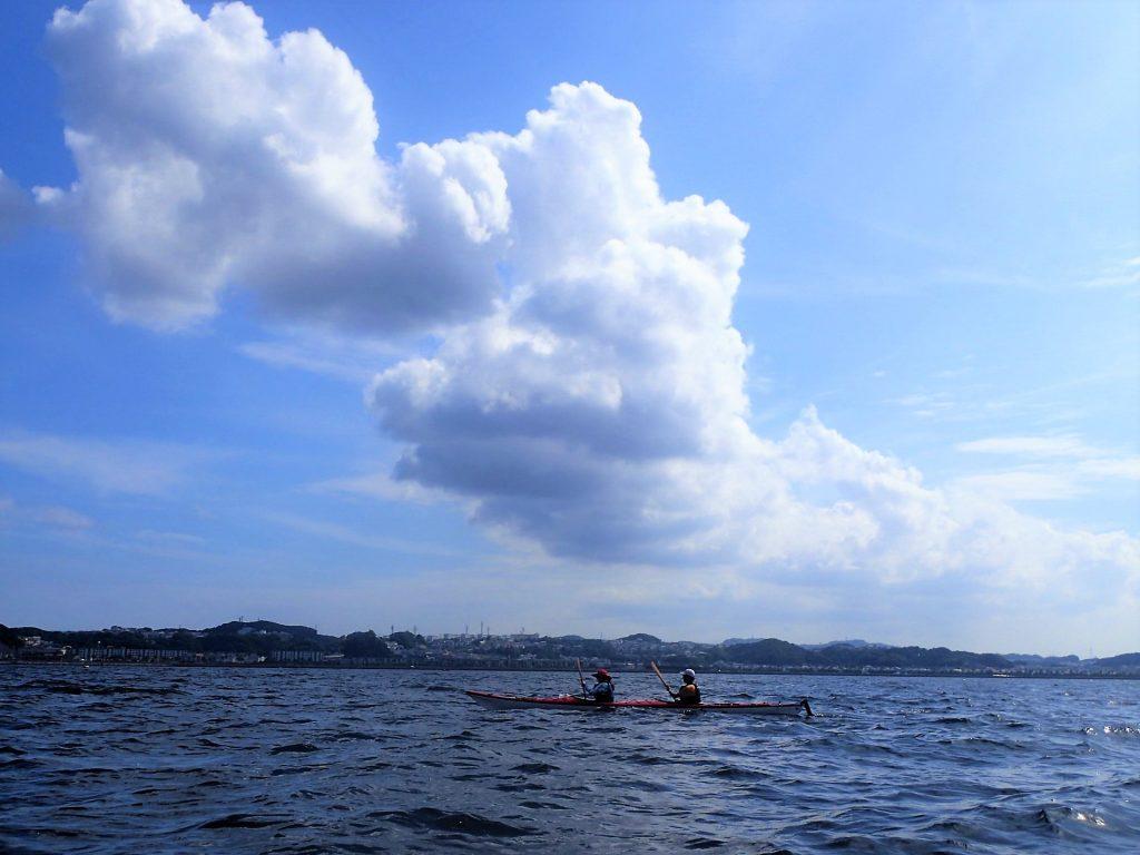 東京湾タンデムカヤックリレー