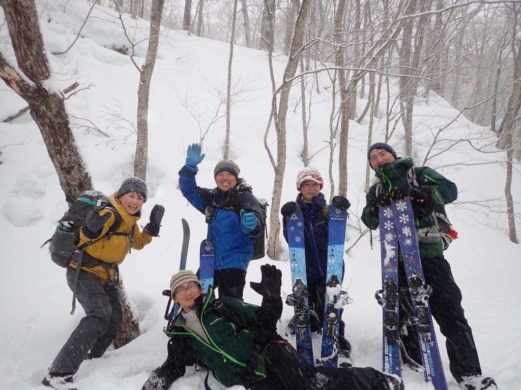 青森 南八甲田、冬のブナの森を歩く。