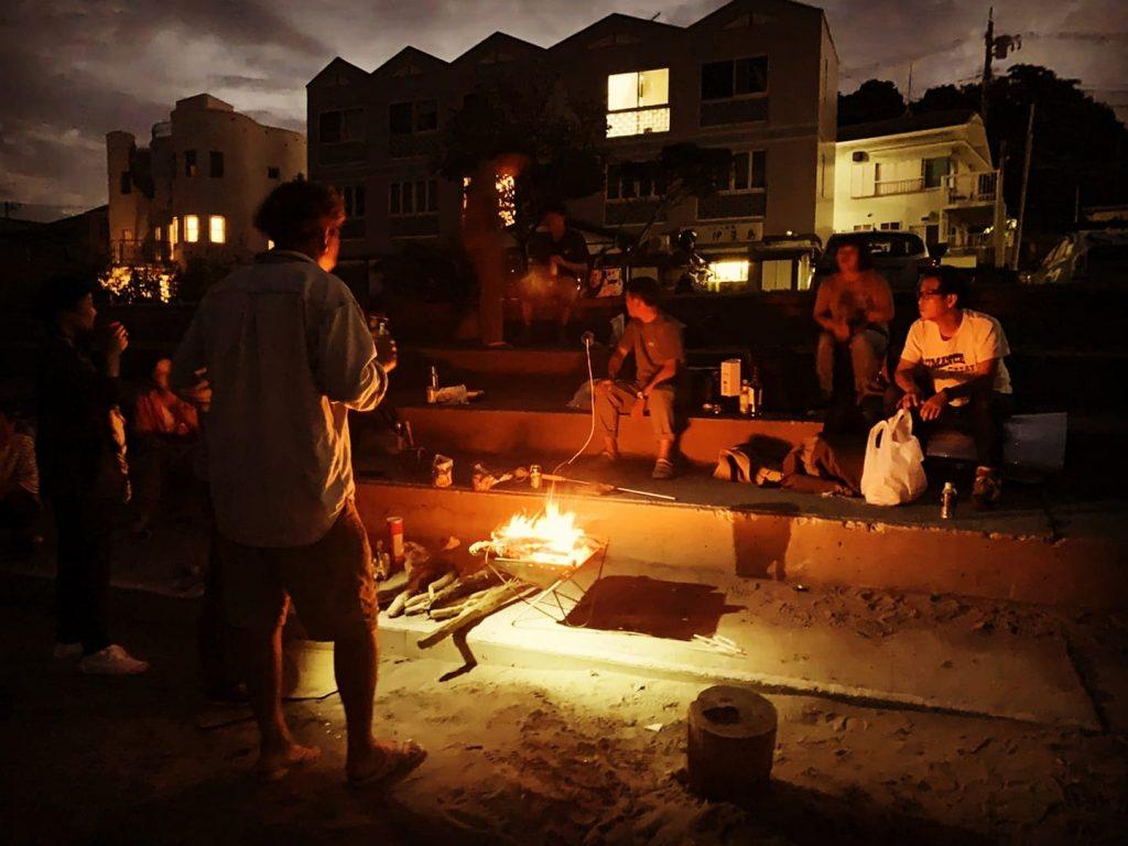 季節のイベント 5月15日 立夏の頃 焚火の会